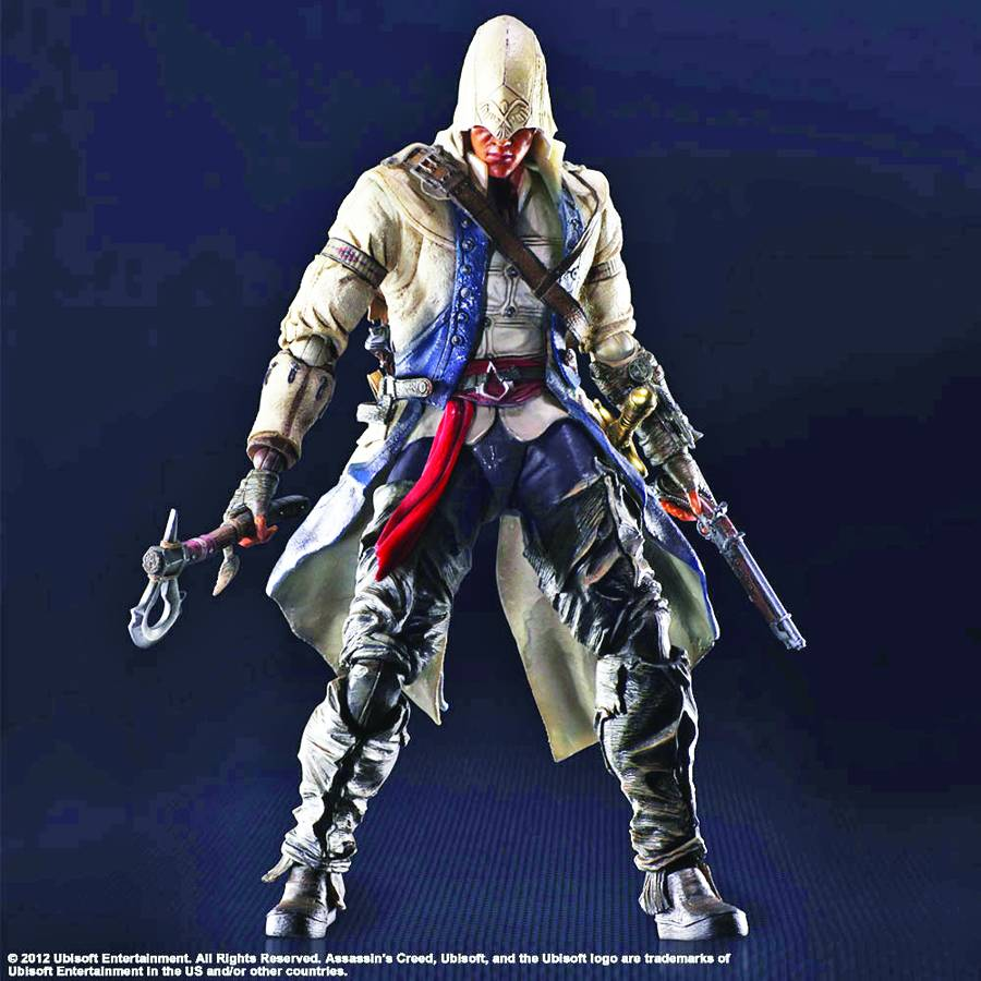 Assassin's Creed III Connor Play Arts Kai Action Figure
